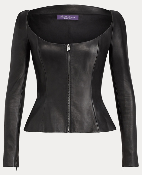 Charisse Nappa Leather Jacket