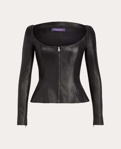 Charisse Nappa Leather Jacket