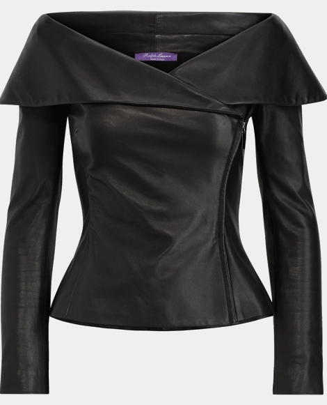 Maxine Nappa Leather Jacket