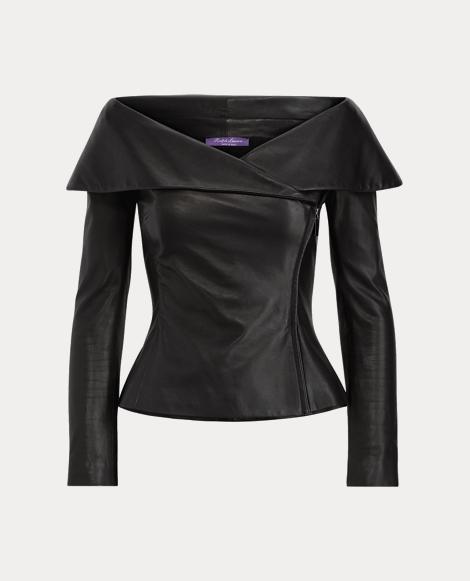 Maxine Nappa Leather Jacket