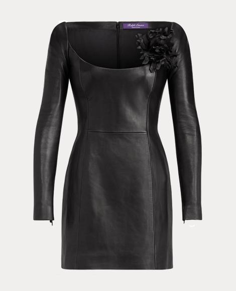 Charlotta Nappa Leather Dress