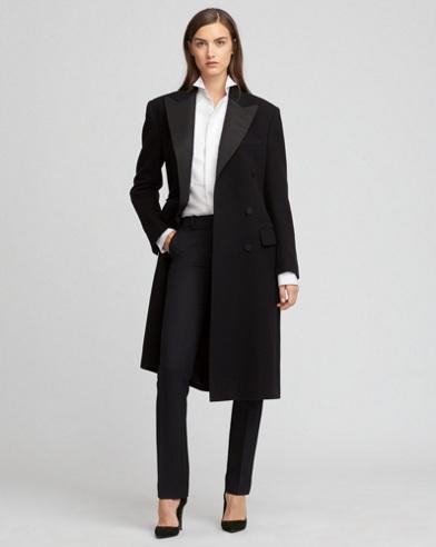 Brendan Wool Tuxedo Coat