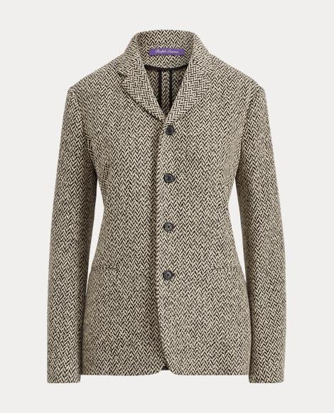 Adley Herringbone Wool Jacket