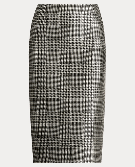 Cynthia Glen Plaid Skirt