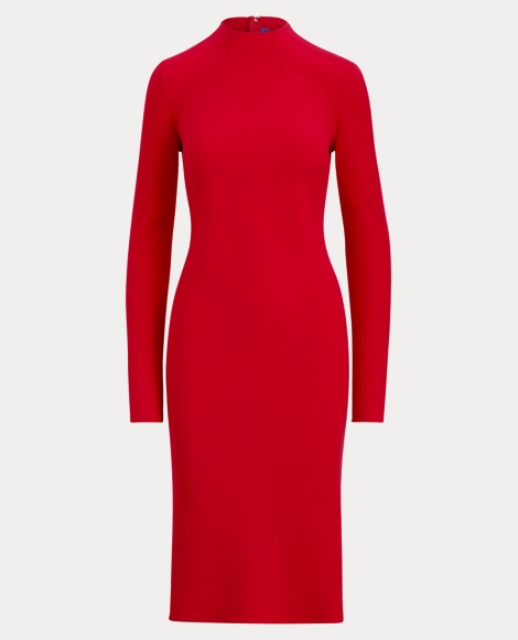 Matilda Wool Crepe Dress