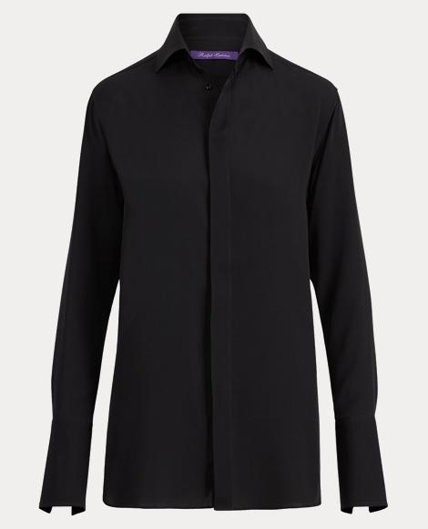 Thompson Silk Georgette Shirt