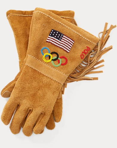 Team USA Ceremony Suede Gloves