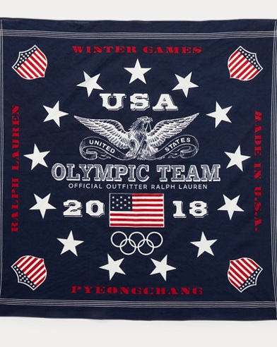 Team USA Cotton Bandanna