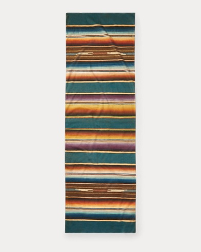 Serape-Print Cotton Scarf
