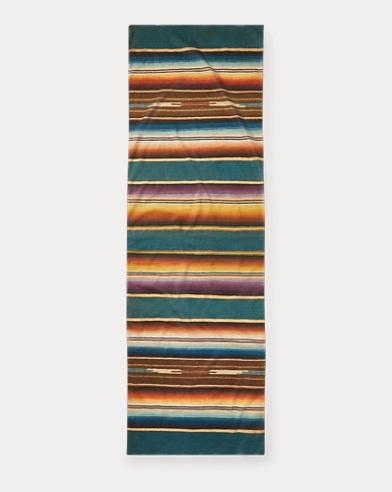 Serape-Print Cotton Scarf