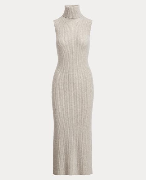 Cashmere Turtleneck Dress