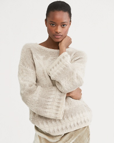 Southwestern Wool Sweater