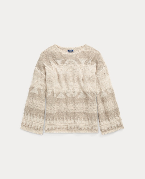 Southwestern Wool Sweater
