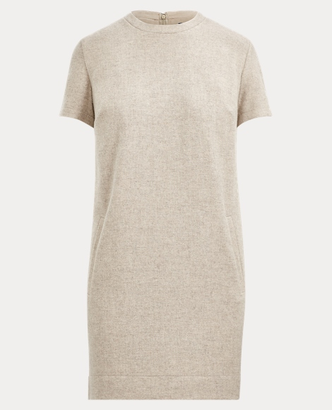Wool Shift Dress