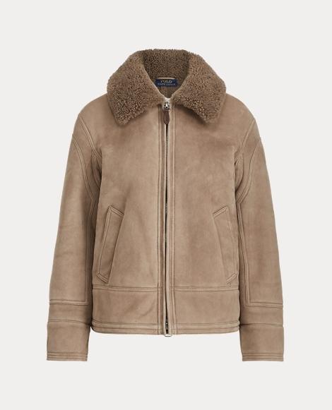 Shearling Bomber Jacket
