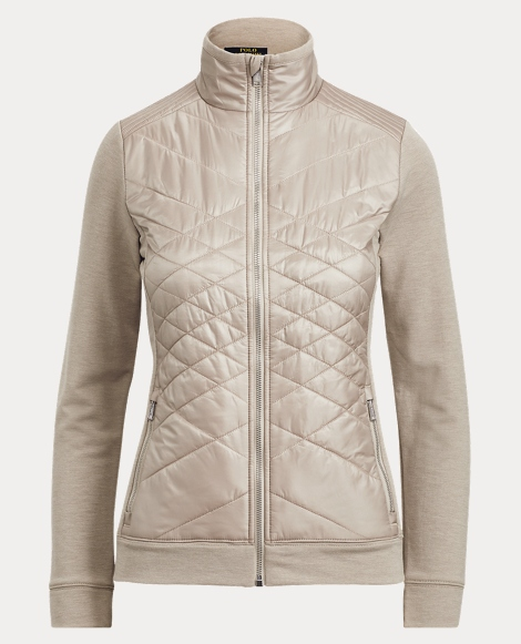 Quilted Ripstop-Terry Jacket
