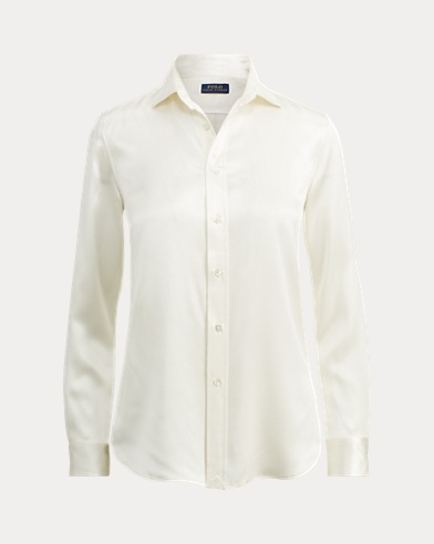 Silk Charmeuse Shirt