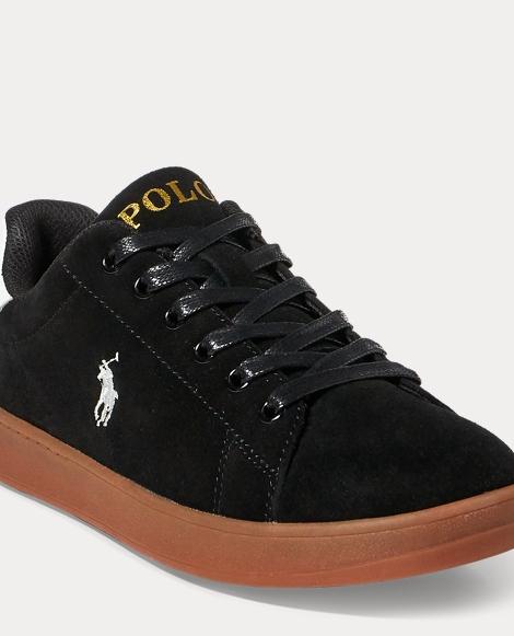 Quincey Suede Court Sneaker