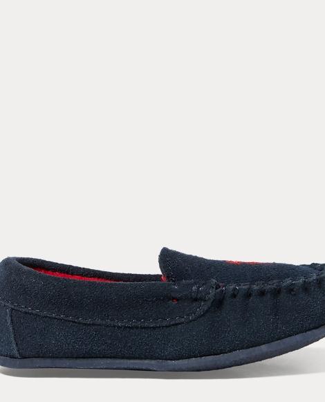 Desmond Suede Moccasin Slipper