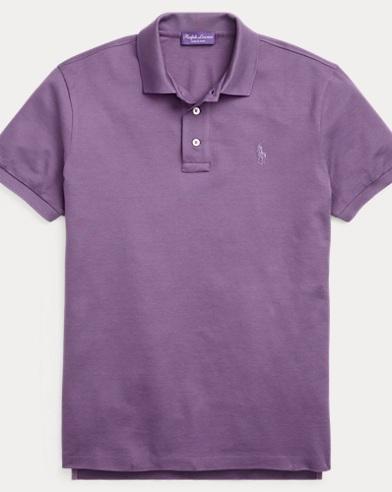 Custom Fit Piqué Polo Shirt