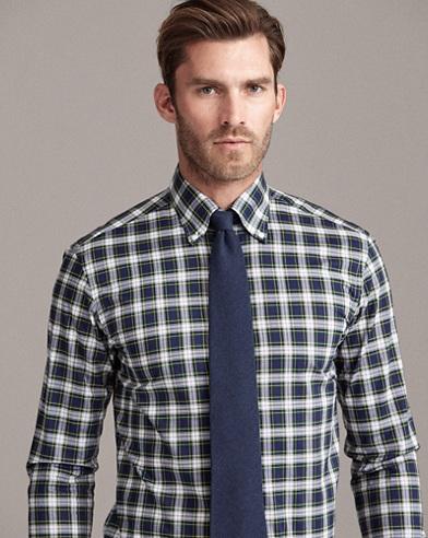 Tartan Cotton Sport Shirt
