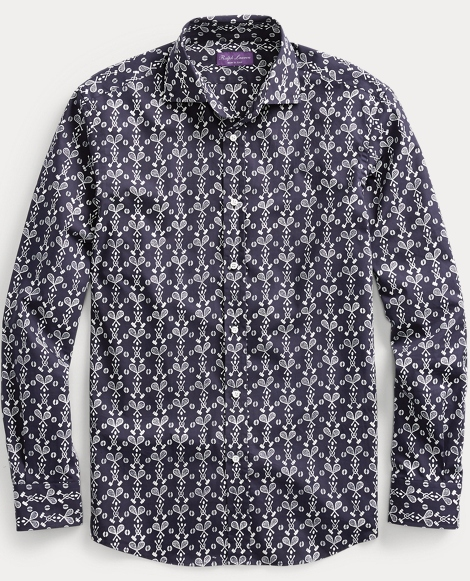 Print Cotton Sport Shirt