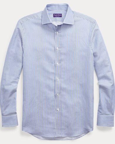 Striped Cotton-Linen Shirt