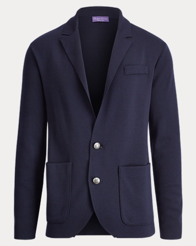Slim Fit Merino Wool Blazer