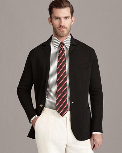 Textured Knit Blazer