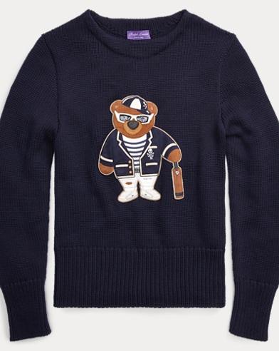 Polo Bear Merino Wool Sweater