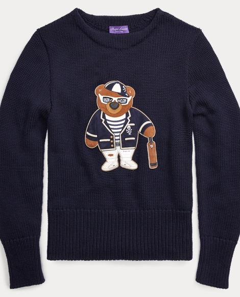 Polo Bear Merino Wool Sweater