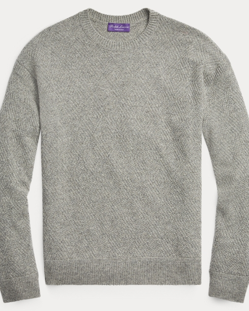 Sale alerts for  Diamond-Knit Cashmere Sweater - Covvet