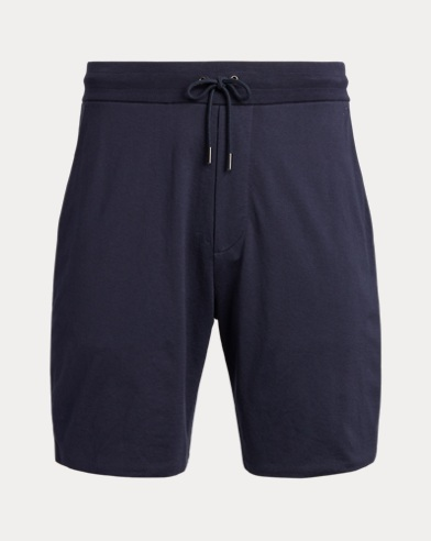 Cotton Lisle Drawstring Short