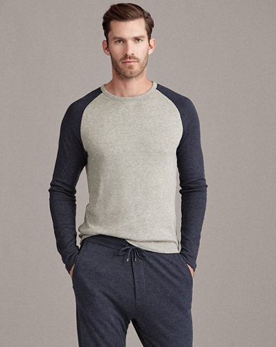 Long-Sleeve Crewneck T-Shirt