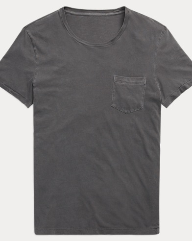 Washed Cotton Lisle T-Shirt
