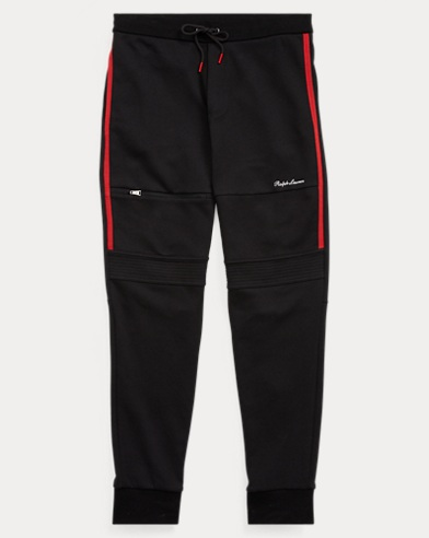 Tapered Fit Cotton-Blend Pant