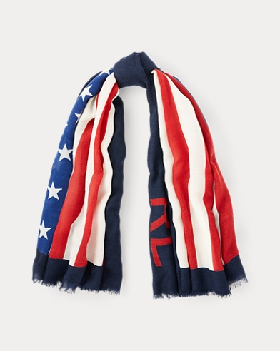 Flag Wool Scarf