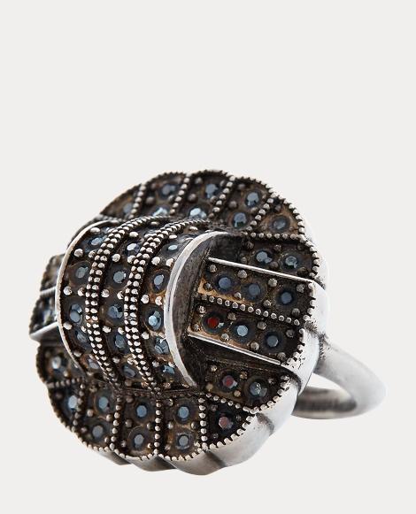 Art Deco Crystal Ring