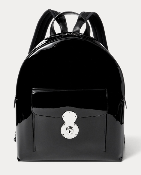 Patent Leather Ricky Backpack