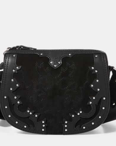 Western Suede Crossbody Bag