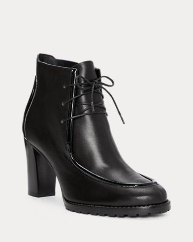 Lorenna Calfskin-Patent Boot