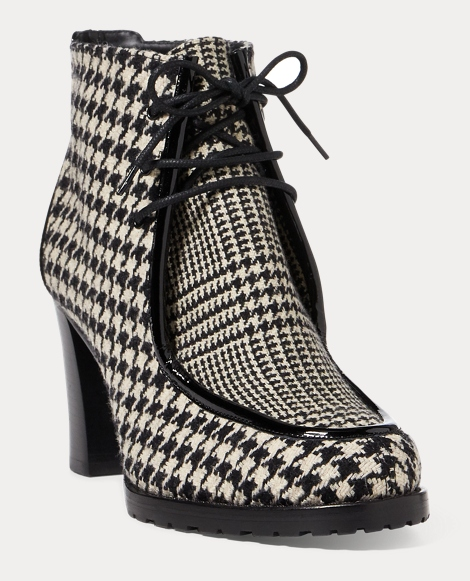 Loreanna Houndstooth Boot