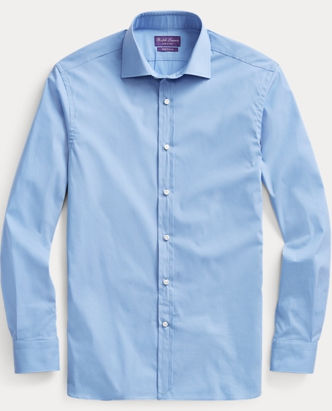 Stretch Poplin Dress Shirt