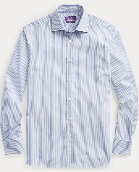 French Cuff Cotton Dress Shirt