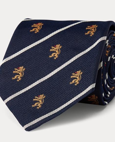 Striped Silk Club Tie