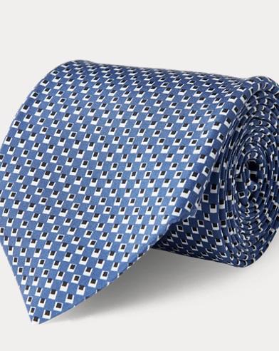 Silk Madder Habotai Tie