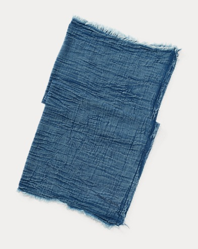 Lightweight Denim Scarf