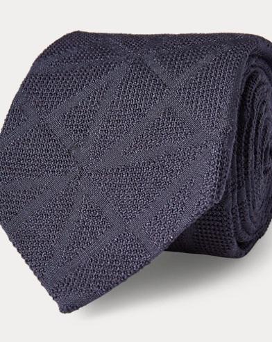 Art Deco Silk Grenadine Tie