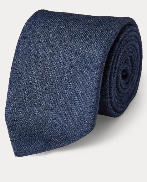 Mélange Silk-Cashmere Tie
