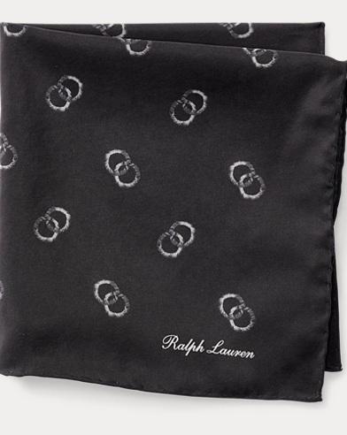 Circle Silk Pocket Square